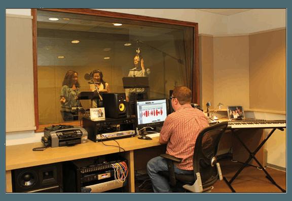 ABC mouse recording studio